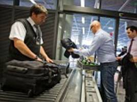 airports facing chaos after us declares it wont allow uncharged cellphones or laptops onto flights bound for america